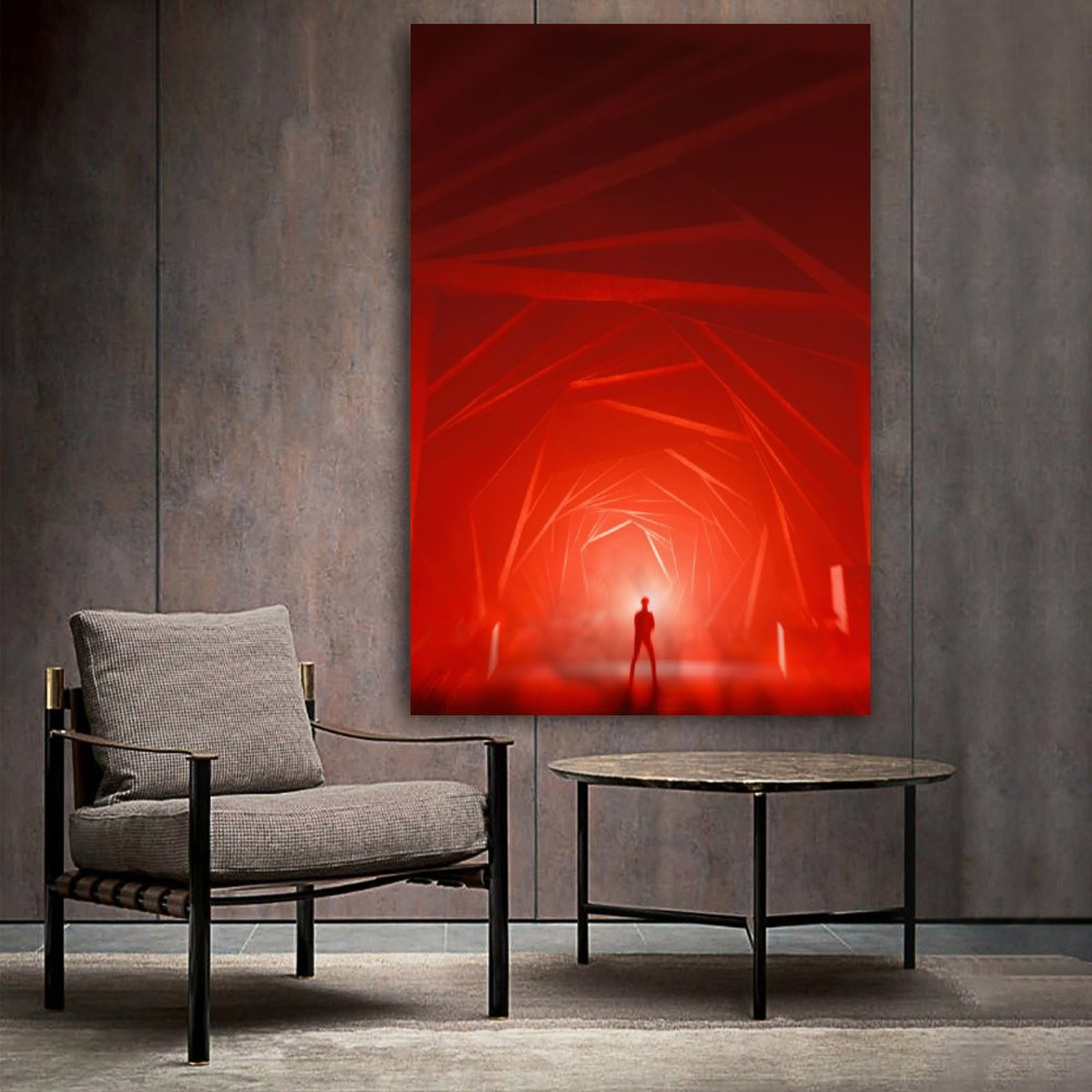 red light poster decorative painting canvas wall art living room posters bedroom painting