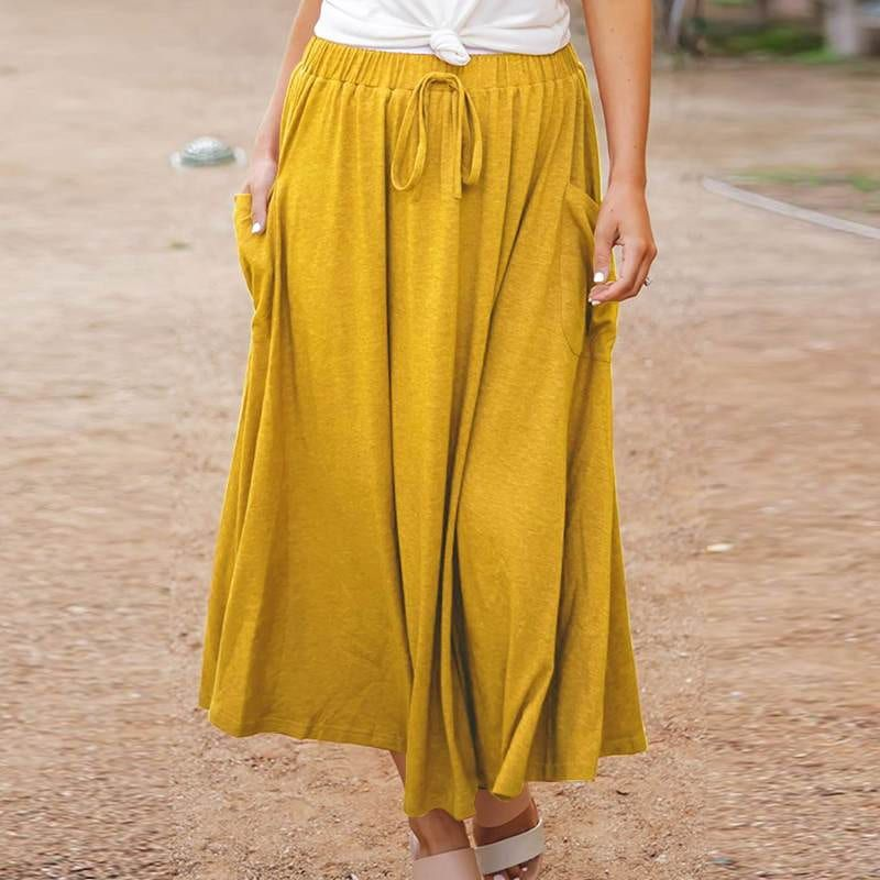 FLORAL SKIRT WITH FRILLS | BSB Fashion | Clothing for