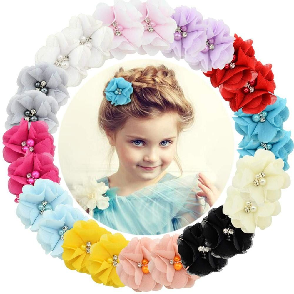 3 Pcs Baby Girls Hair Clip Kids Infant Hairpin Party Headwrap Toddler Barrettes