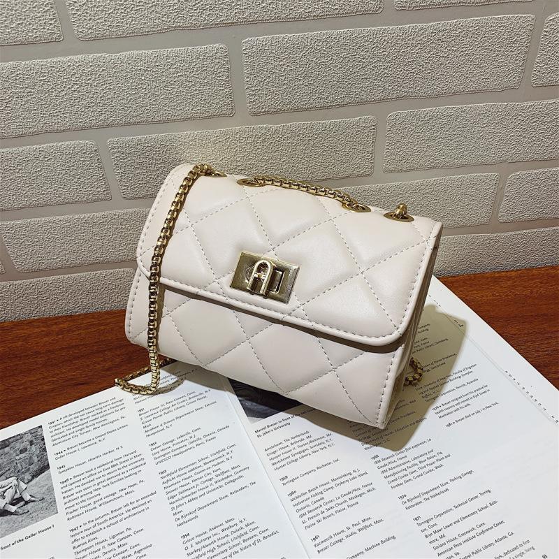 small bag female niche 2021 new trendy fashion rhombus messenger bag wild mini chain bag female bag