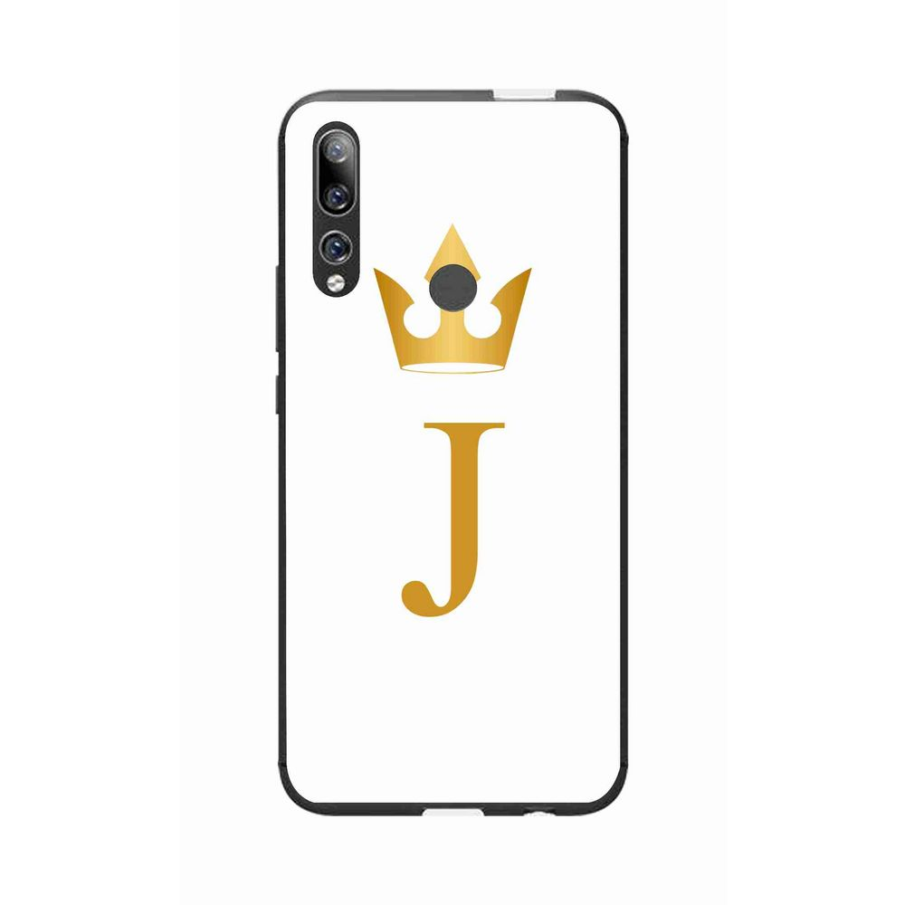okteq case cover for huawei honor 9x - j letter by okteq