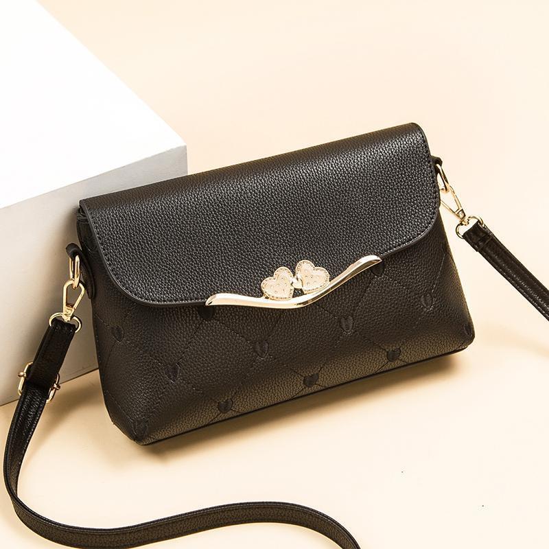 mom messenger bag women's shoulder bag 2021 new fashionable korean style middle-aged and elderly versatile large capacity soft leather women's bag