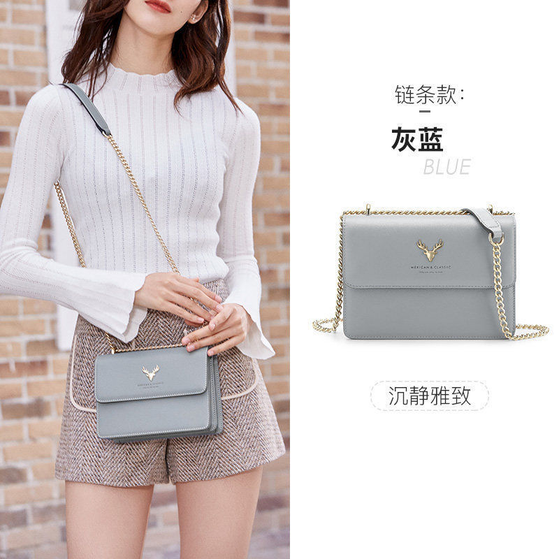 scarecrow bag 2020 new trendy fashion small ck bag shoulder messenger bag female wild ins chain small square bag